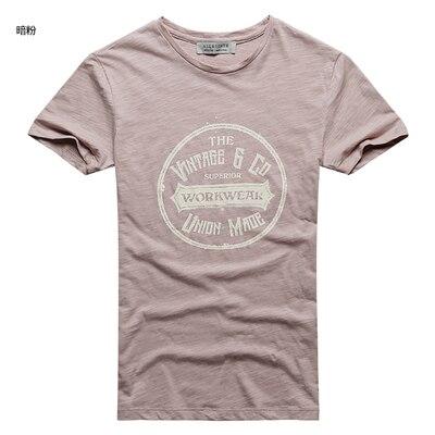 Männer Neue Rundhals Street Style Druck Buchstaben Kurzarm T-shirt Männer der Sommer Mode Baumwolle Retro Beiläufige Dünne T-shirt t380