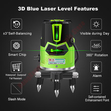 Laser Level Green 2 3 5 Cross Lines 360 Degree Rotary Self- leveling Laser Level in Box Without Bracket Diagnostic Tools high accuracy new self leveling rotary rotating laser level 500m range