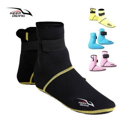 3MM Neoprene Short Beach Socks Antiscivolo antiscivolo Scuba Dive Boots Snorkeling Calzino Pinne da nuoto Pinne Scarpe neoprene Swim Boot