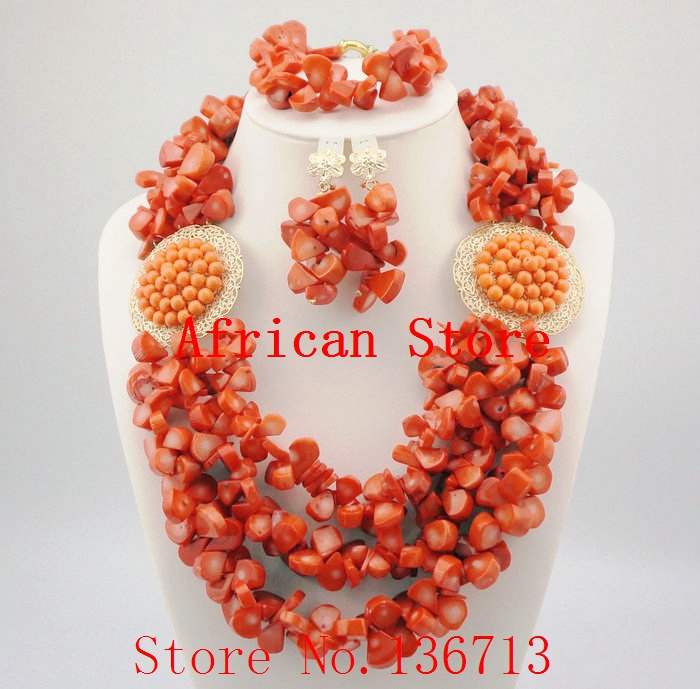 16 Colors Indian Bridal Jewelry Set Nigerian Wedding Beads Costume ...