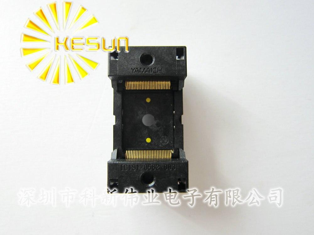 100% nouveau IC191-0562 TSOP56 IC prise de Test/adaptateur de programmeur/prise de rodage (IC191-0562-003)