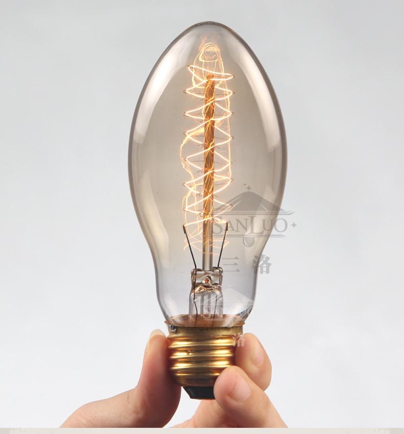 Industrial Halogen Light Bulbs: 10PCS Industrial Vintage Edison Bulbs E27 Retro Tungsten