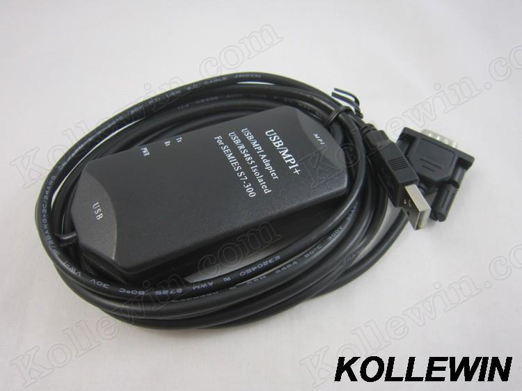 USB/MPI+ PLC adapter USB-MPI+ for Simatic S7-200/300/400,support win7/win 8 replace 6ES7972-0CB20-0XA0 USB/MPI USB MPI freeship топливная форсунка aadvance iwp044 gol ab9 1 6 1 8 mpi marelli 50100802 iwp044