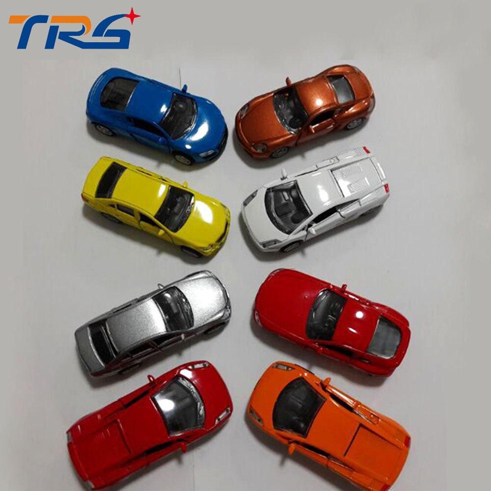 Al por mayor 20 unids 1  64 metal en miniatura escala modelo pintado color  coches para la arquitectura diseño del tren 5c5975c78de3a