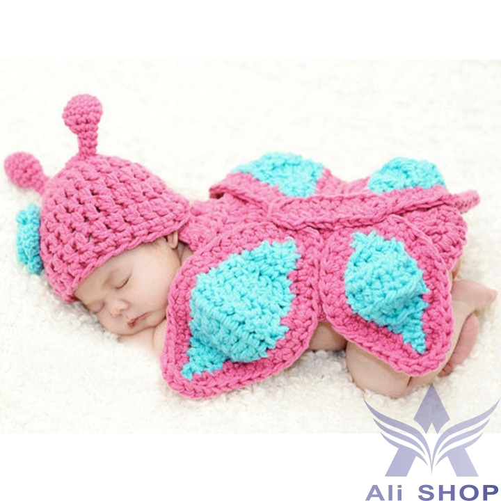 New Born Baby Girl Clothes Romper Butterfly Design Newborn