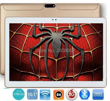 10 pulgadas 3g wcdma android tablet pc quad core teléfono pad 1280*800 wifi fm gps de la tableta de 2 gb + 16 gb