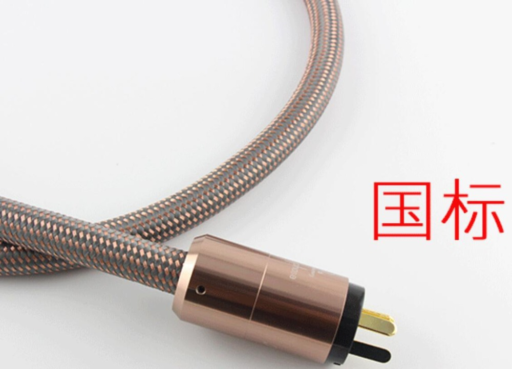 Image 5 - Hi End Hifi amplifier US/ EU /AU plug AC Cable Power Cord  Hifi audio vedio  power cable amplifier cable Japan Accuphase-in Speaker Accessories from Consumer Electronics