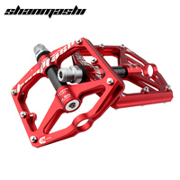 SMS Bicycle Pedals Super Wide Road Bike Pedals Mountain Bike Pedals Aluminum Alloy Cycling Parts Ultralight