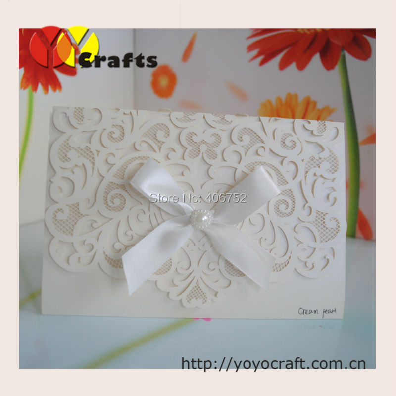 Popular folding paper cards buy cheap folding paper cards for Wedding craft supplies