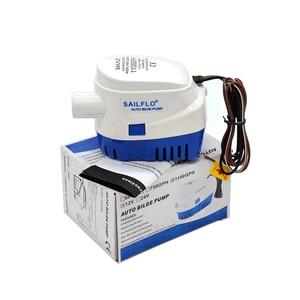 Image 5 - Free shipping,DC 12V/24V 1200/1100GPH Automatic bilge pump,submersible boat water pump,electric pump for boats.Bilge Pump 12v