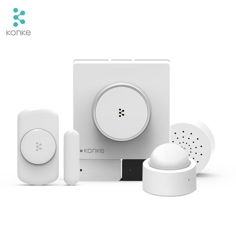 Konke Multifunktionale Gateway Hub zigbee Temperatur Feuchtigkeit Sensor Menschlichen Körper Sensor Drahtlose Schalter Smart Home Kit für xiaomi - 3