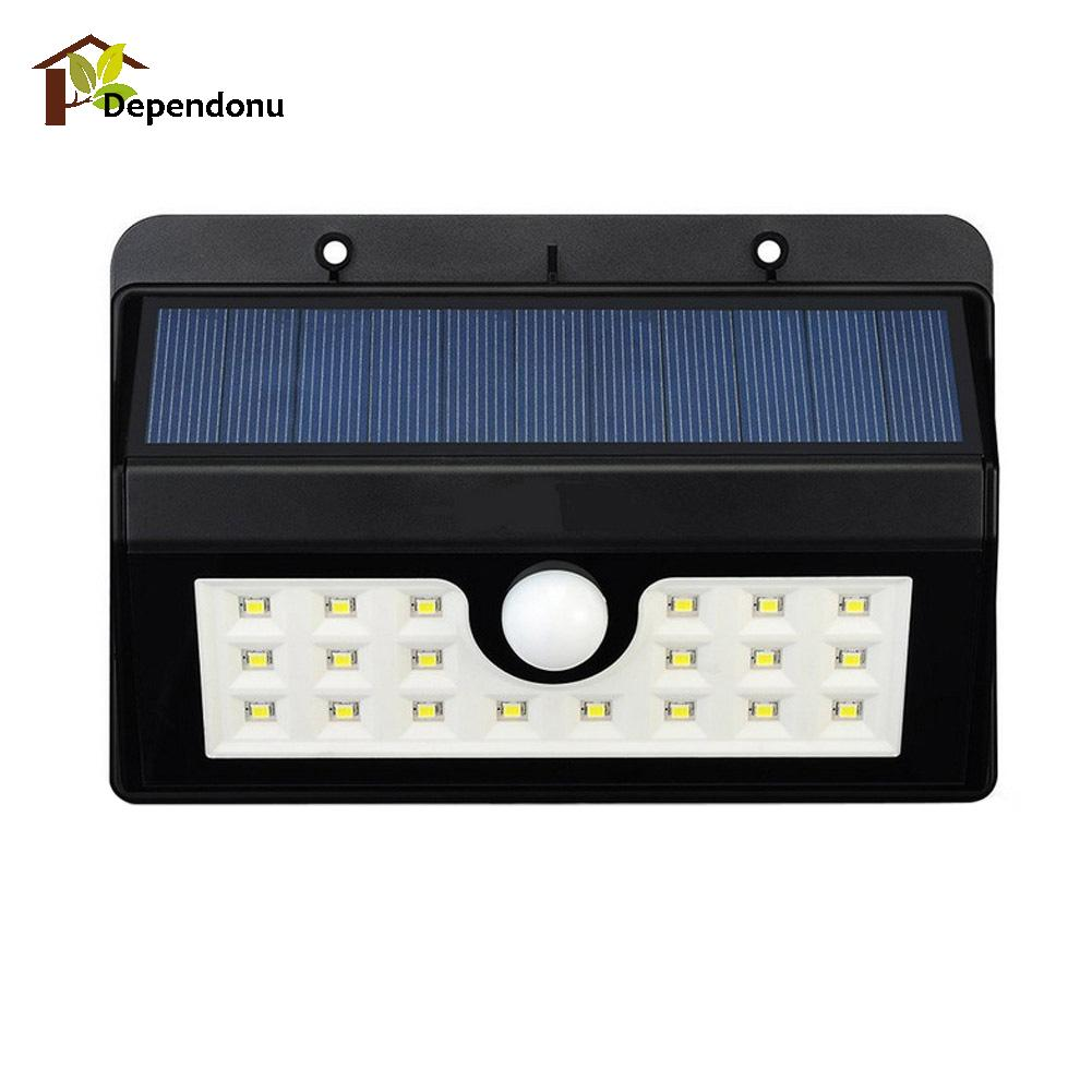 20 LED Motion Sensor Solar Light Outdoor Led Flood Lights Spotlights Garden Solar Powered Lamp Emergency Lighting emergency auto led solar panel double head lights motion sensor outdoor garden waterproof lamp spotlights super bright lighting