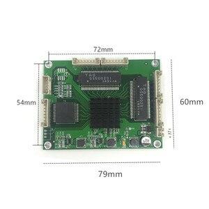 Image 2 - 工業用グレードのミニ 3/4/5 ポートフルギガビットスイッチ変換に 10/100/1000 Mbps 転送モジュール機器弱いボックススイッチモジュール
