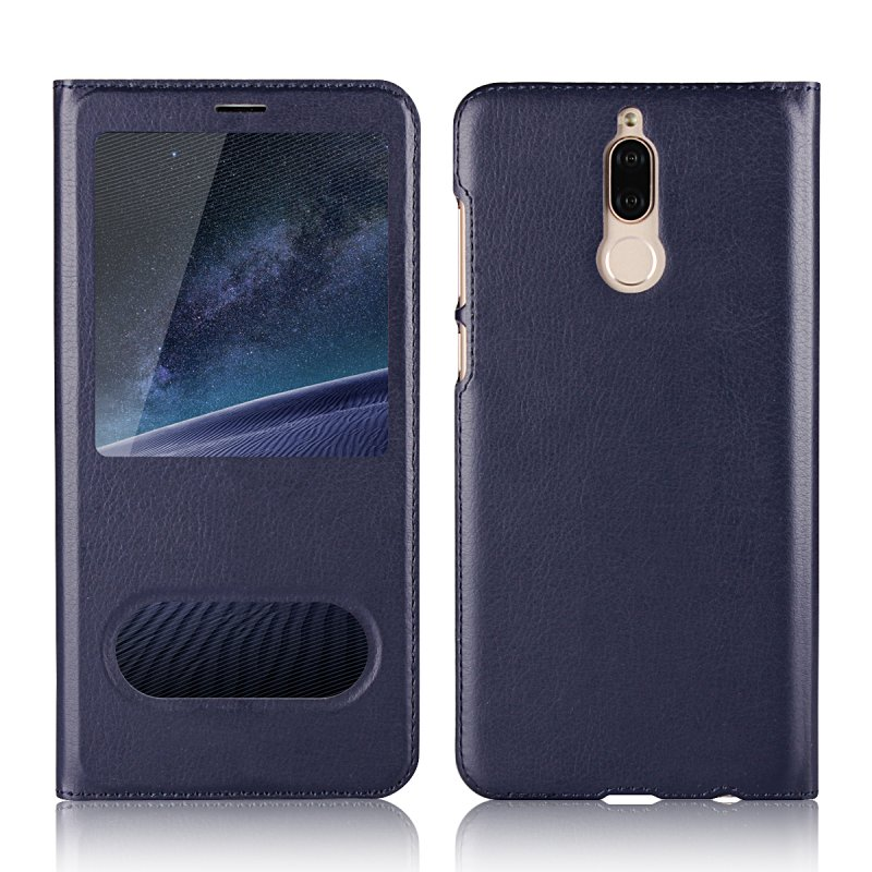 Window Case For Huawei Mate 10 Lite Flip Cover Cases For Coque