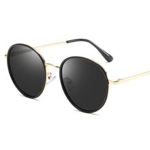 2019 New Fashion Women Polarized Sunglasses Retro Round Ladies Simple Style Sun Glasses for Woman Driving Sunglases