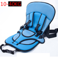 10 -40kg for 3-10years old baby hot sale Portable baby safety seat Children's Chairs in the Car Thickening Sponge Kids Car Seats