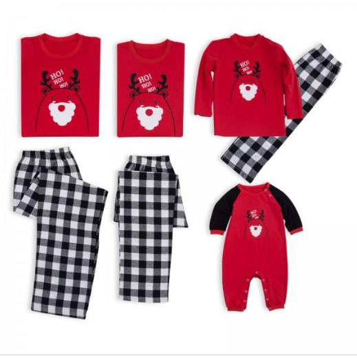 9a1199236f Christmas Pajamas Family Clothing 2019 Family Matching Mother Daughter  Father Son Clothes Family Clothing Sets New Year Costume