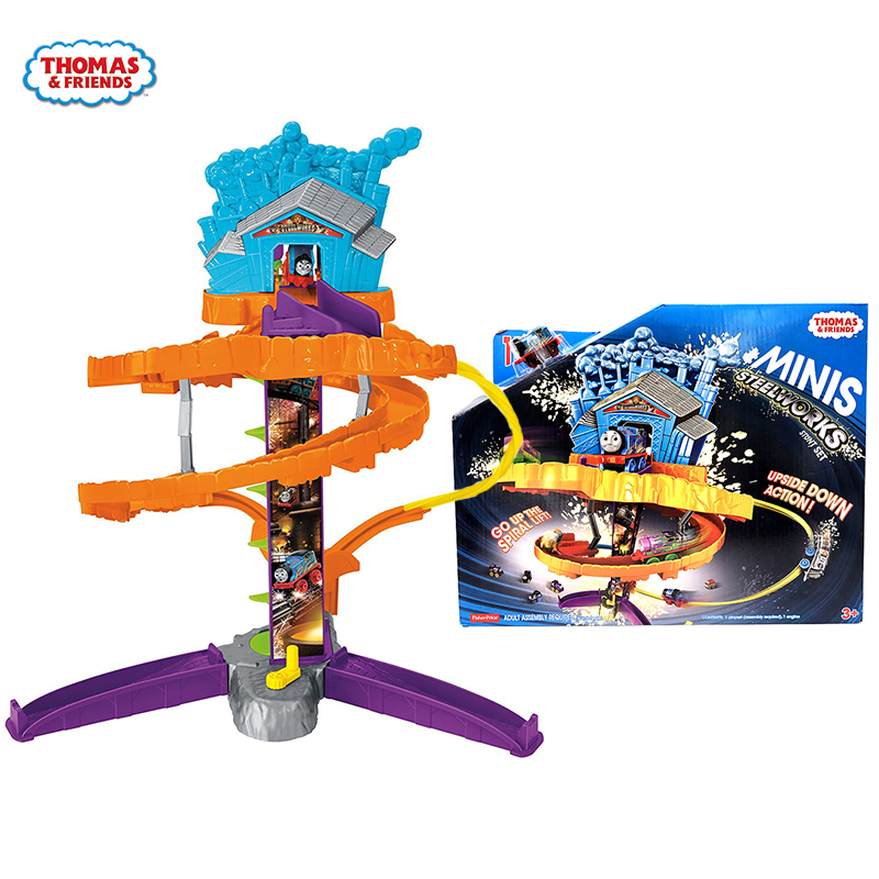 Original Brand Thomas and Friends Mini Train Track Adventure Model Cars Kids Metal Toy-cars Diecast Toys For Children Juguetes все цены
