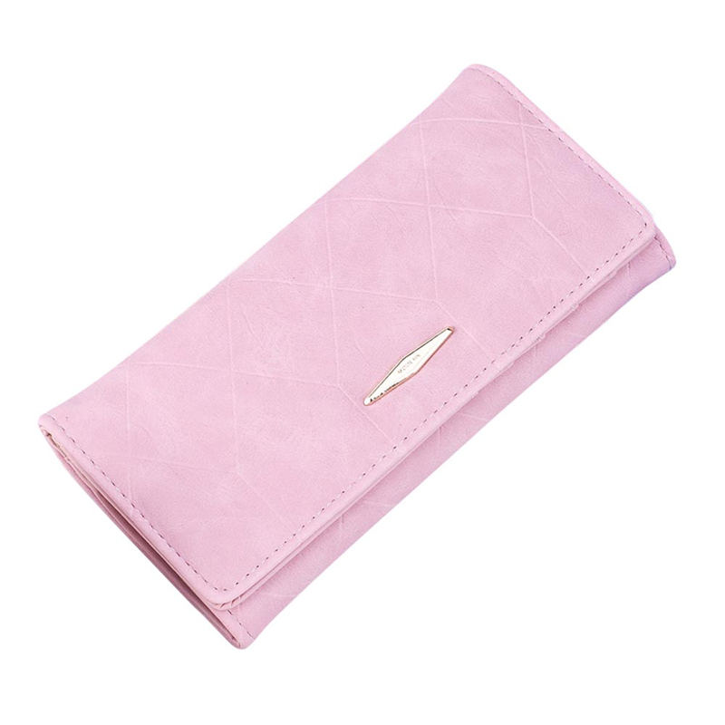 OCARDIAN 2018 Women Solid Hasp Coin Purse Long Wallet Card Holders Handbag Fashion Pu # p 5