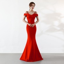Sexy Red Diamond Off Shoulder Maxi Dresss Evening Women Party Night Club Bandage Long Dress Elegant Girl Gothic Vestidos 2019