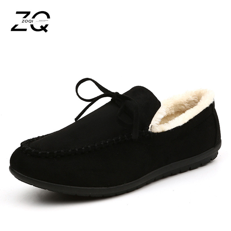 7a6ccd0f055 ... Casual Non Slip Loafers Men Plus Velvet Driving Shoes Men Sneakers  Leather Shoes Mocassim Masculino. -34%. Click to enlarge