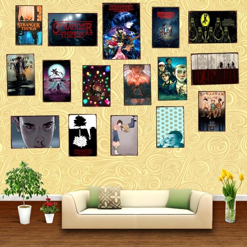 Aliexpress.com : Buy Stranger Things Movie Tin Sign