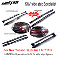 hot running board side step side nerf bar for Hyundai NEW Tucson 2016 2017 2018,four models,ISO9001 quality,HITOP SUV specialist