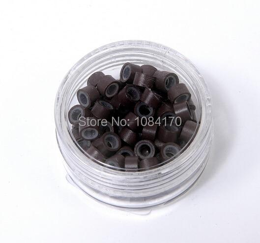 5000 Stücke 4,5mm * 2,5mm * 3,0mm 8 Farbe Silikon Mikro Ringe Micro Link Micro Perlen Für Haar Verlängerung Herausragende Eigenschaften