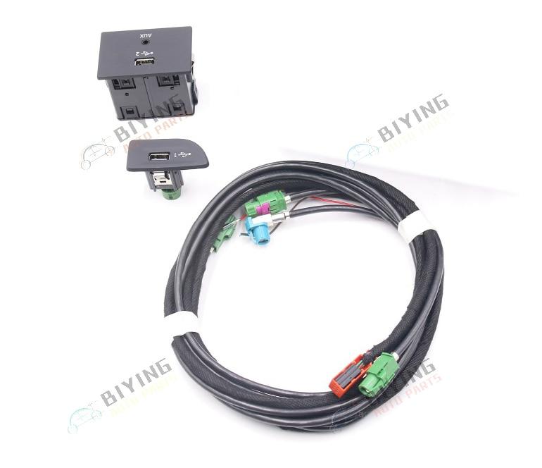 Для Audi A3 8 V MIB 2 CarPlay MDI USB AMI установите переключатель разъема кнопку использовать
