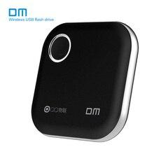 O flash de dm wifi usb conduz wfd025 32gb 64gb 128gb wifi para iphone/android/pc