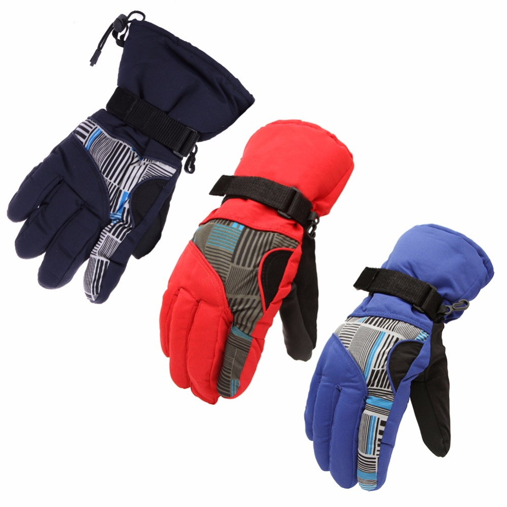 2017 Winter Warm Outdoor Skiing Gloves Windproof Waterproof Men Women Cycling Glove Anti Slip Riding Motorcycle Snowboard Gloves