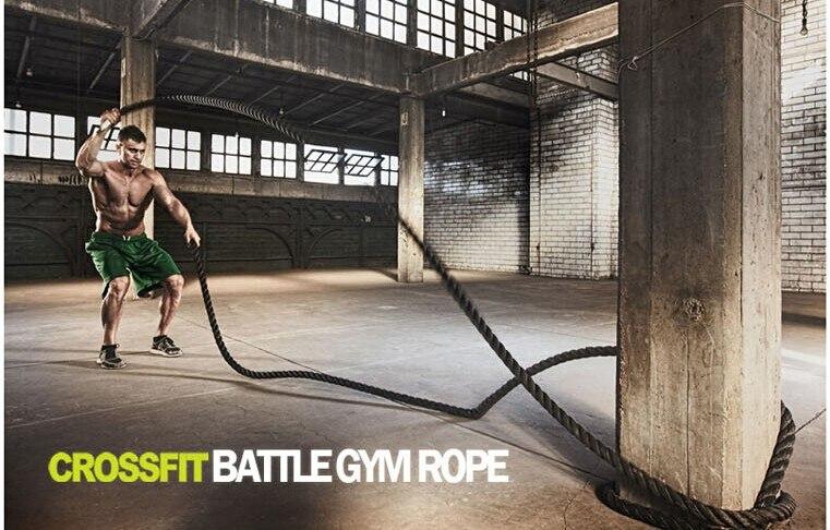 9 M * 50 MM Durevole Per Il Fitness corde Corda Palestra di allenamento Fisico battle rope - 5