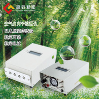 Хан парная отрицательных ионов детектор окружающей среды лесного Air положительные и отрицательные ионы кислорода тестер KEC990 + 100 2 миллионов
