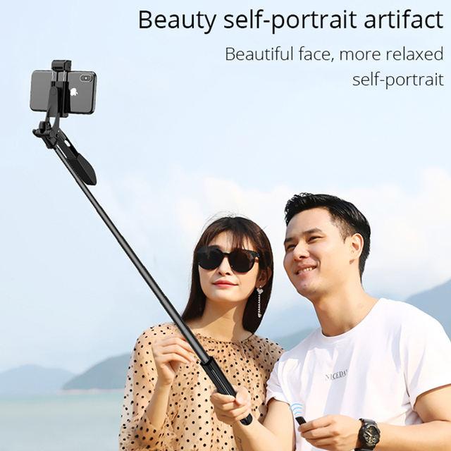 Video Stabilizer Selfie Stick Tripod