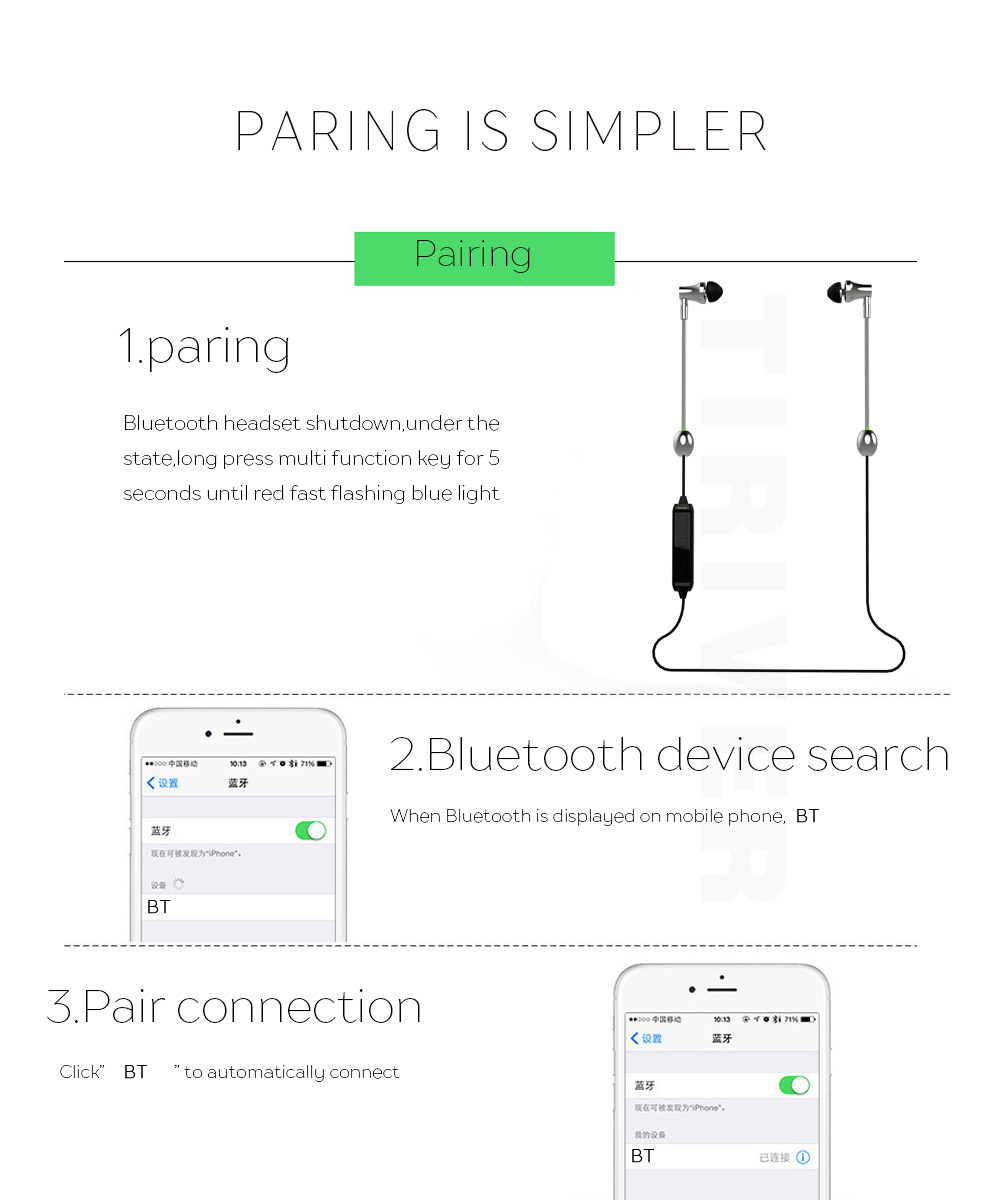 2 Colors Health Radiation Protection Bluetooth Earphone 45mah Daewoo Korando Front And Rear Fog Lamp Schematic Routing Diagrams Click Here Battery Safe Headset With Microphone For Iphone Xiaomi Samsung Lg