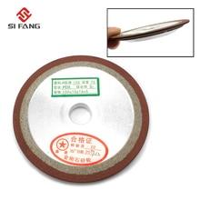 цена 80mm PDX One Side Tapered Plain Resin Diamond Grinding Wheel 150 grit  75% with arbor 13mm 16mm онлайн в 2017 году