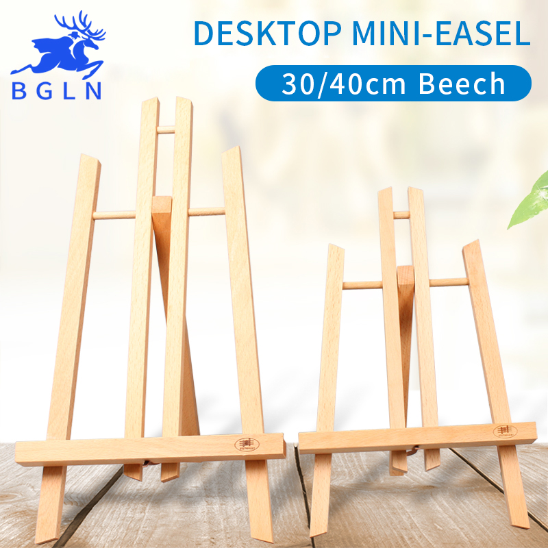 BGLN Desktop Mini-easel 30cm/40cm Advertisement Sketch Watercolor AcrylicPainting Exhibition For Art Painting Easel Supplies visual communication spotlights for exhibition and trade fairs 40cm long arm and 30cm extra height
