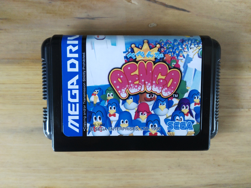 MD Game : Pepenga PENGO ( Japan Version!! )