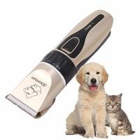 Kat Dog Hair Trimmer Elektrische Clipper Scheerapparaat Set Puppy Kapsel Machine ONS UK/eu-stekker