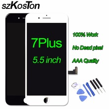 Grade quality lcd For iPhone 7 Plus LCD With 3D Touch Screen for iPhone 7 6s 6s plus LCD Digitizer Assembly Replacement Display