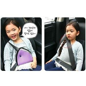 Image 5 - CheMeiMei Car Safe Fit Seat Belt Adjuster Car Safety Belt Adjust Device Baby Child Protector Covers Positioner Drop shipping