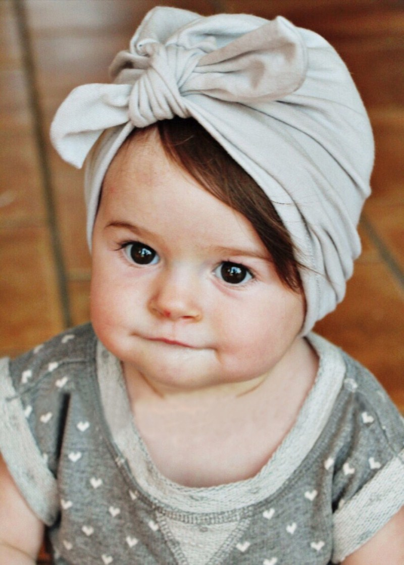 Newborn Baby Toddler Kids Boy Girl Bowknot Soft Cotton Beanie Hat Cap Skullies kids baby cotton beanie soft girl boy knit hat toddler infant kid newborn cap