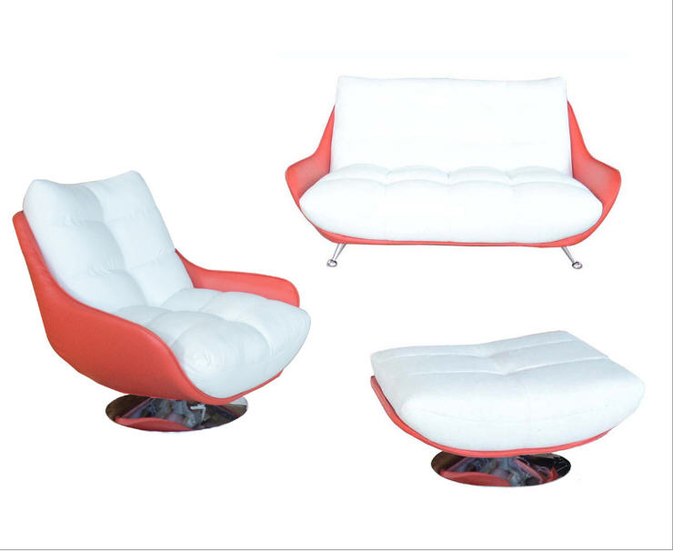 Galleria fotografica Living Room <font><b>Sofa</b></font> set minimalist modern <font><b>sofa</b></font> real genuine cow leather sectional <font><b>sofa</b></font> muebles de sala moveis para casa 1+2+ottoman