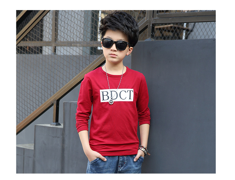 fashion casual pink green black striped o-neck t shirt for boys long sleeve t shirt kids boy tee tops clothes new 2017 spring autumn teenage boys clothing 6 7 8 9 10 11 12 13 14 15 16 years old little teenage big boys t shirt long sleeve (9)