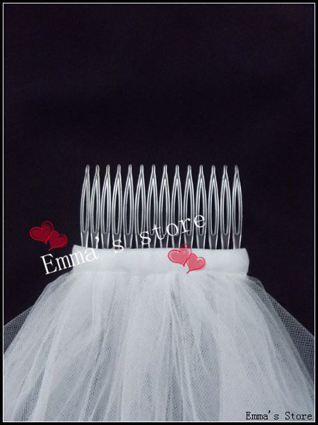Fast delivery ribbon edge two layers wedding