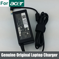 Genuine Original 65 W AC carregador adaptador para ACER ASPIRE AS5552-7803 MS2296 AS5750-6636