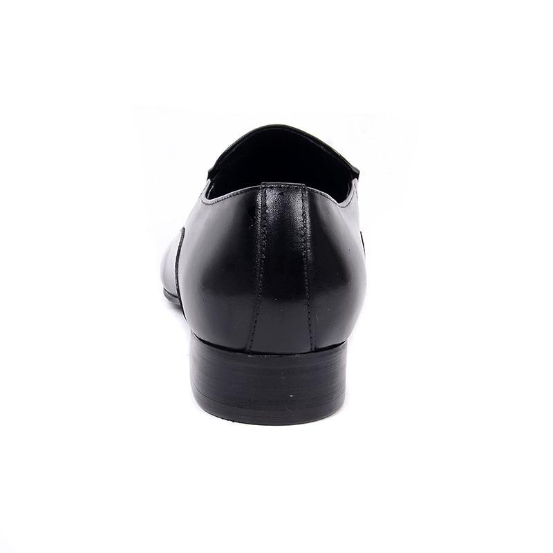 Casual Chaussures Noir wine Cuir Profonde Vache En Peu Tête Bouche Red Hommes Robe Tranchant Ventilation Tuziblobo 2019 rsQxdCth