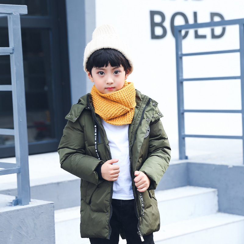 Boy Winter Coats Hot Sales Children Clothing Thickening Hooded Cotton Jackets Fashion Warm Baby Boy Coats Clothes Outerwear Kids 2017 winter baby coat kids warm cotton outerwear coats baby clothes infants children outdoors sleeping bag zl910