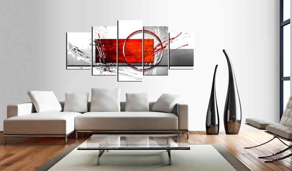 5 pieces/set Abstract poster night view Picture Print Painting On Canvas Wall Art Home Decor Living Room Canvas Art PJMT-B (237)