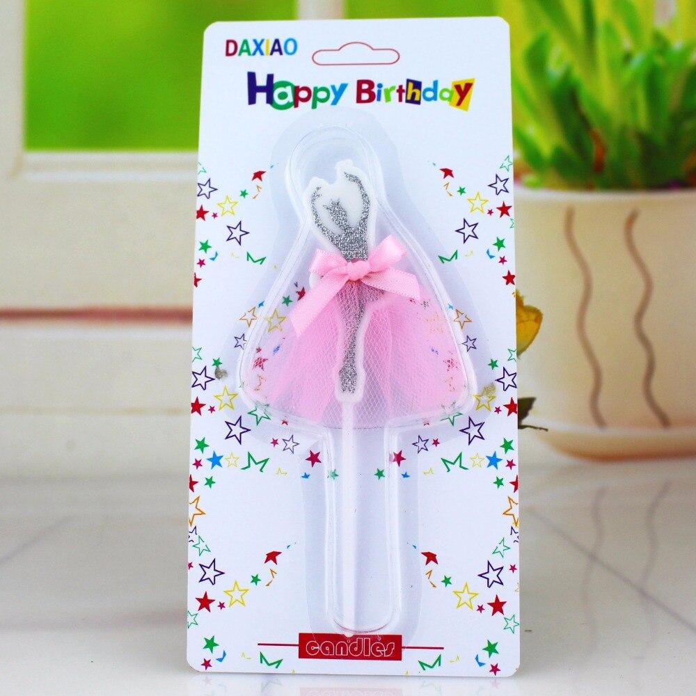 bougie anniversaire ballerine